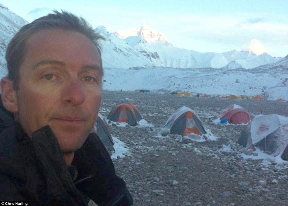 Снимки от лавината на Еверест - Крис Харлинг