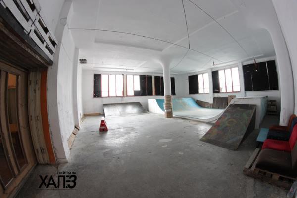Скейт в България - Варна - Хале 3