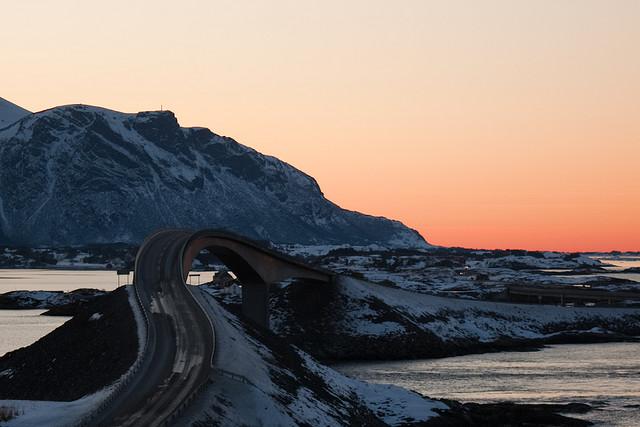 Атлантическият път, Норвегия