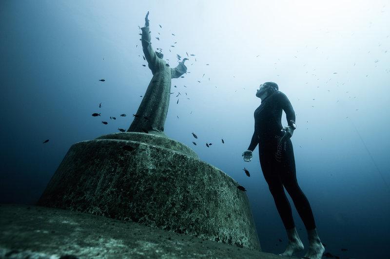 Подводни статуи - Портофино