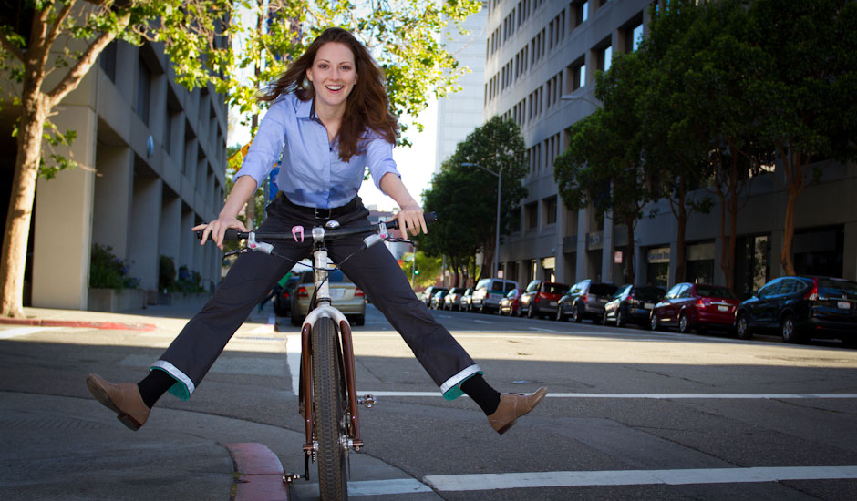 До работа с колело
