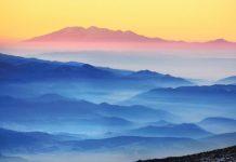 Изгрев от Мечи връх, Рила към Родопи