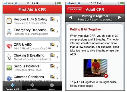 Pocket First Aid & CPR