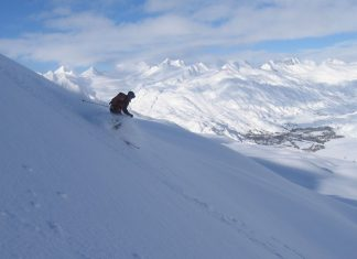 Ски като за последно