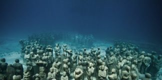 Подводни статуи - Канкун