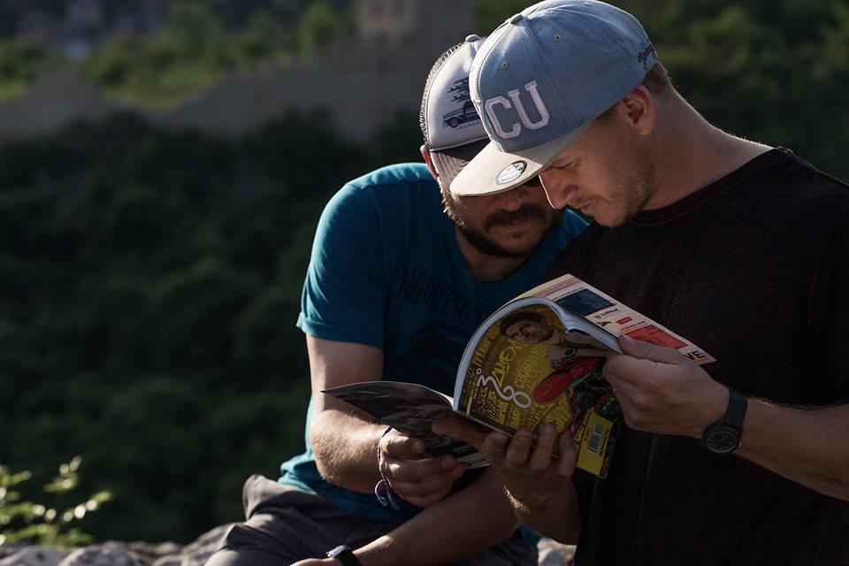 Блейк Самсон и списание 360°. Фотограф: Константин Тръпчев, Red Bull JOURNEYversity