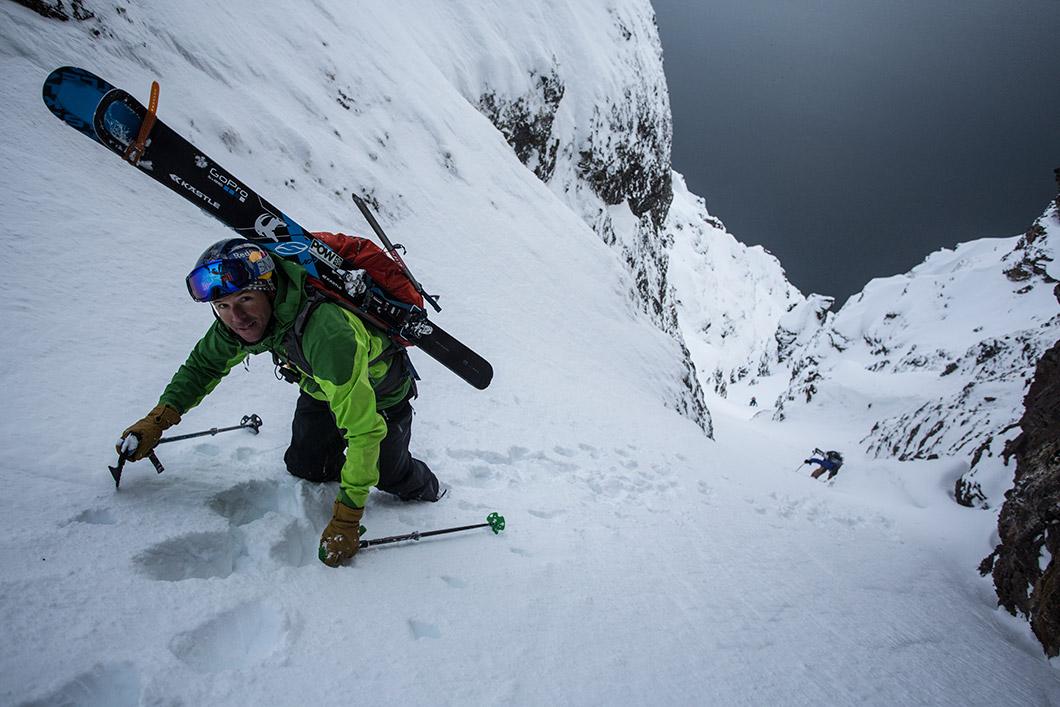 Крис Девънпорт – със ски по планините на 6 континента