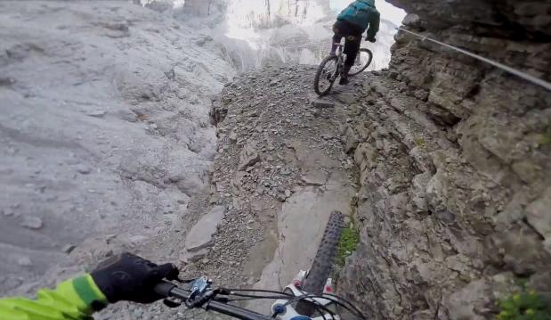 Филм на седмицата: Via Ferrata on a Mountainbike - Харалд Филип