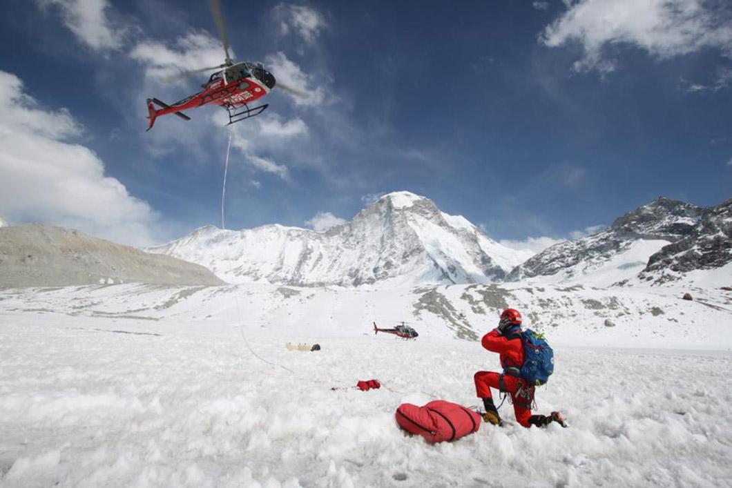 Дендук и Гурунг – елитен спасителен екип за най-добрите катерачи в света