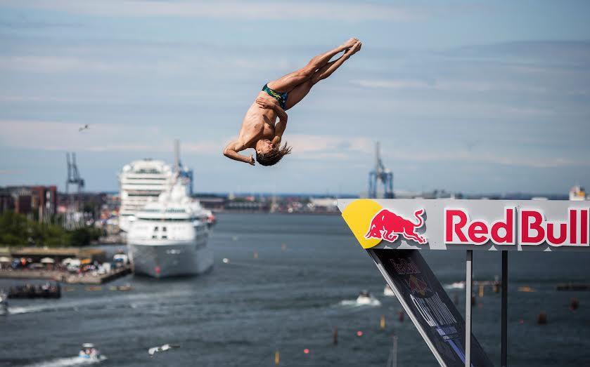 Тодор Спасов. Снимка: Red Bull Cliff Diving