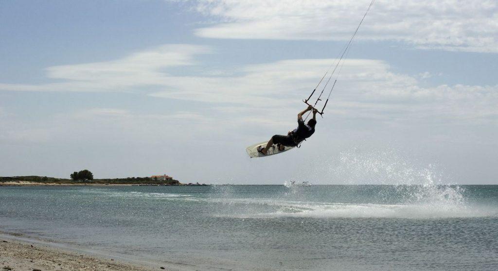 сърф клуб Сироко на Лимнос