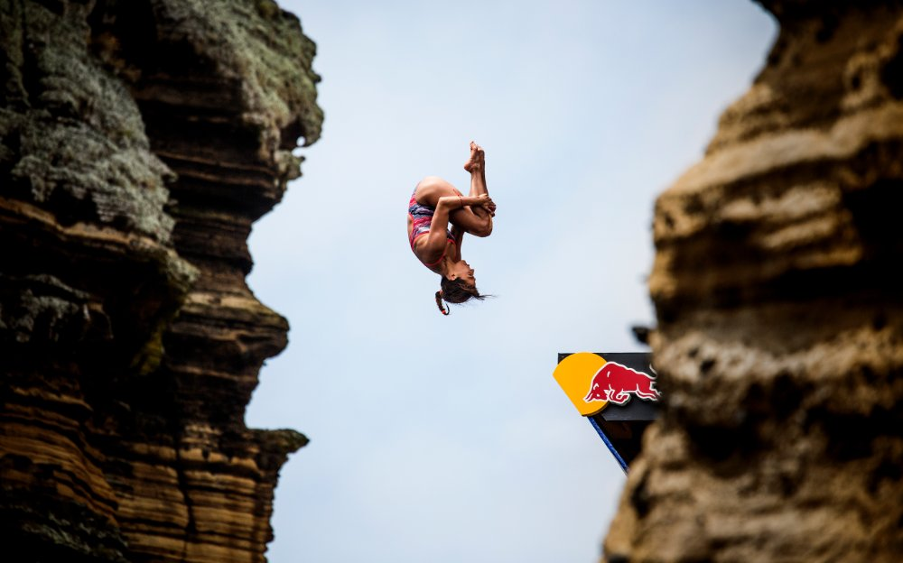 Red Bull Cliff Diving, Азорските острови
