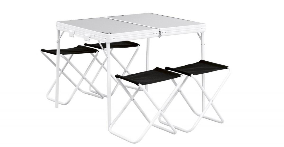 86db3fd633e Сгъваема маса с 4 стола Easy Camp - Списание 360