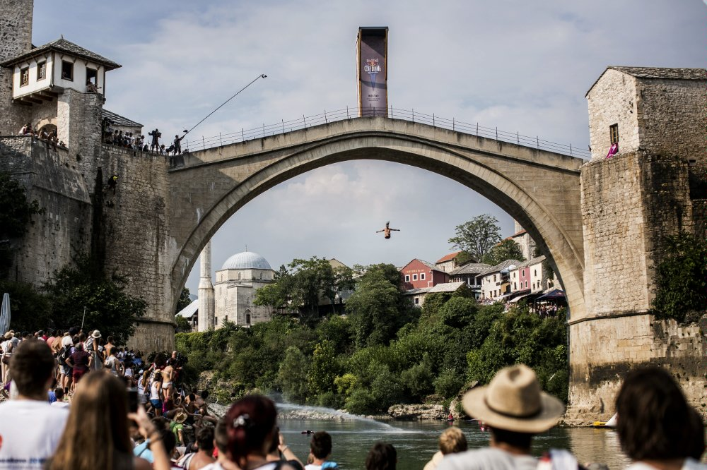 Орландо Дюке, Red Bull Cliff Diving