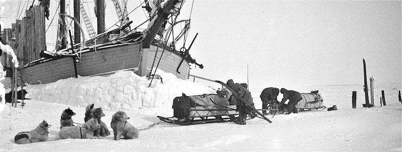 С Амундсен към Северния полюс