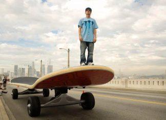 Най-големият скейтборд в света
