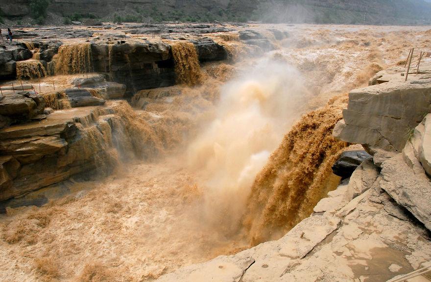 Водопадите Hukou, Китай