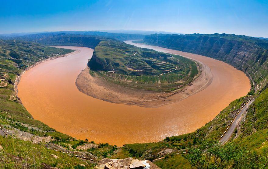 Жълтата река, Китай