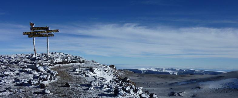 Килиманджаро (5895 м), Африка. Снимка: grownuptravelguide