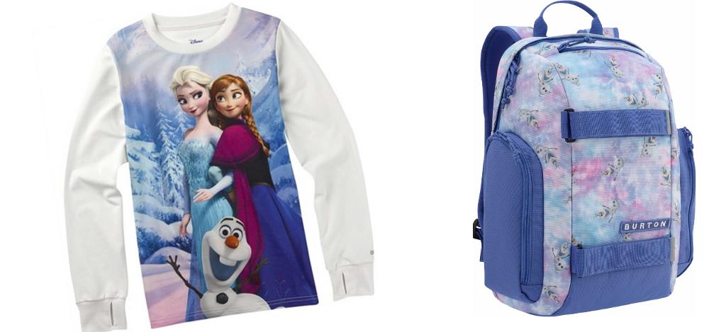 Disney Frozen в детската колекция на Burton