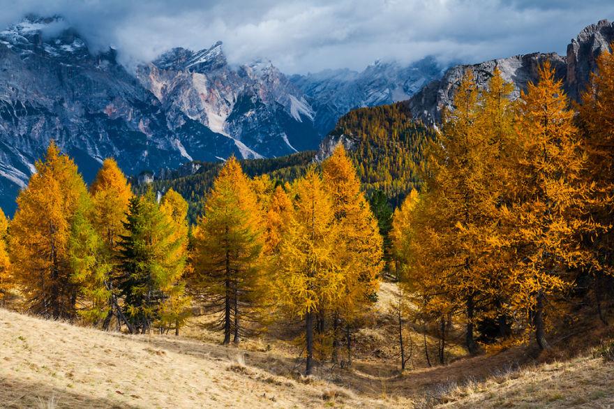 Есен, Доломити