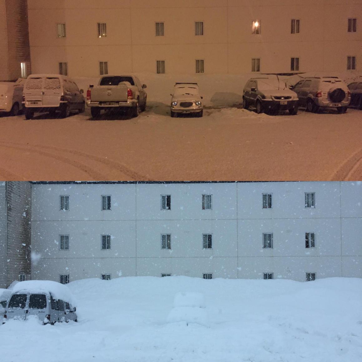 Най-якият сняг е през лятото