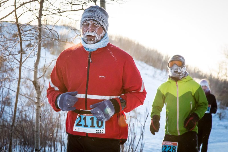 Hypothermic 1/2 Marathon (KELLY MORTON / RUNNINGROOM.CA)