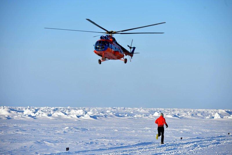 The North Pole marathon