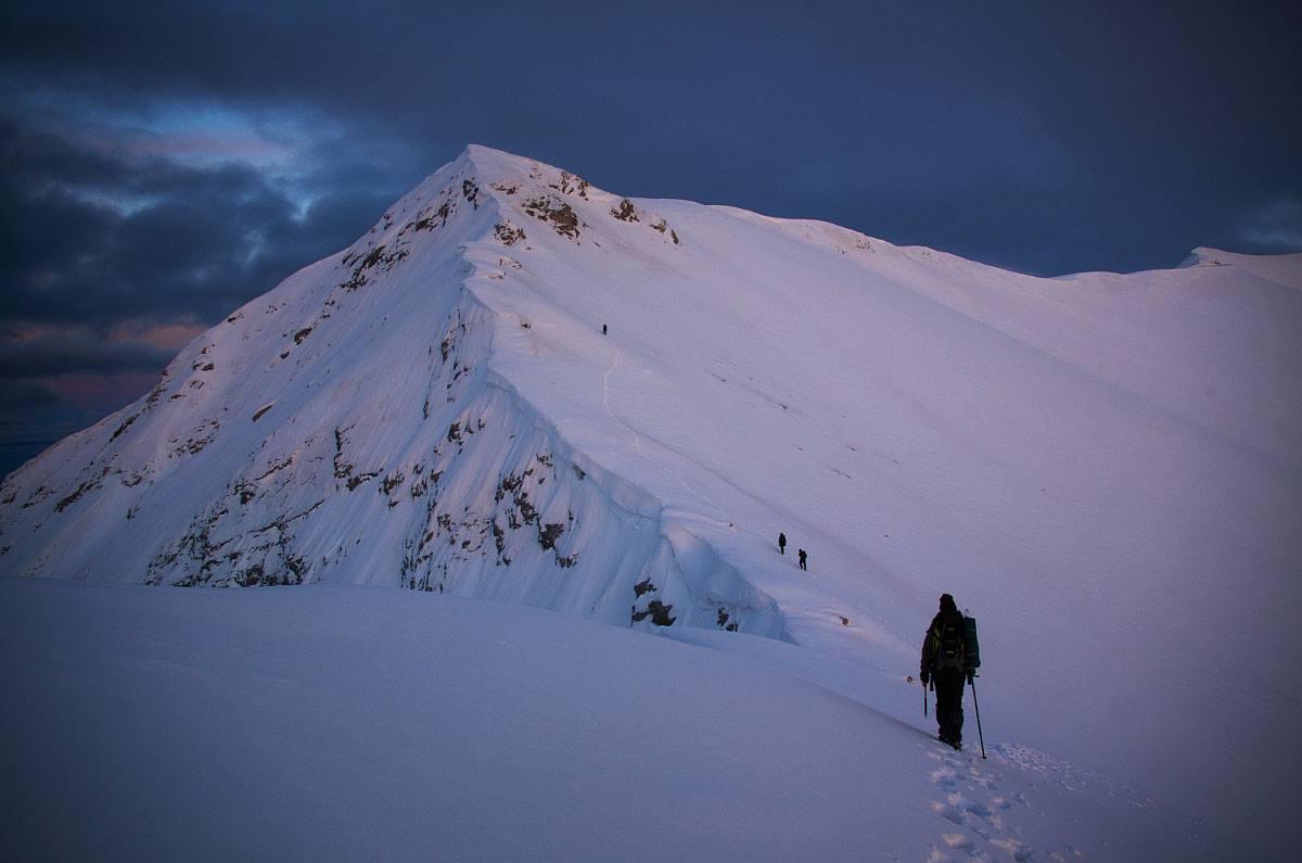Моята зимна история: Първи Пирин, първа зимна планина и първо Конче в едно