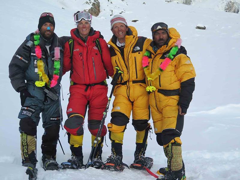 Пързво зимно изкачване на Нанга Парбат