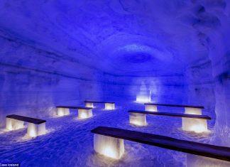 Най-голямата изкуствена ледена пещера
