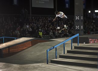 XGames Skateboarding in Oslo, Nyjah Huston