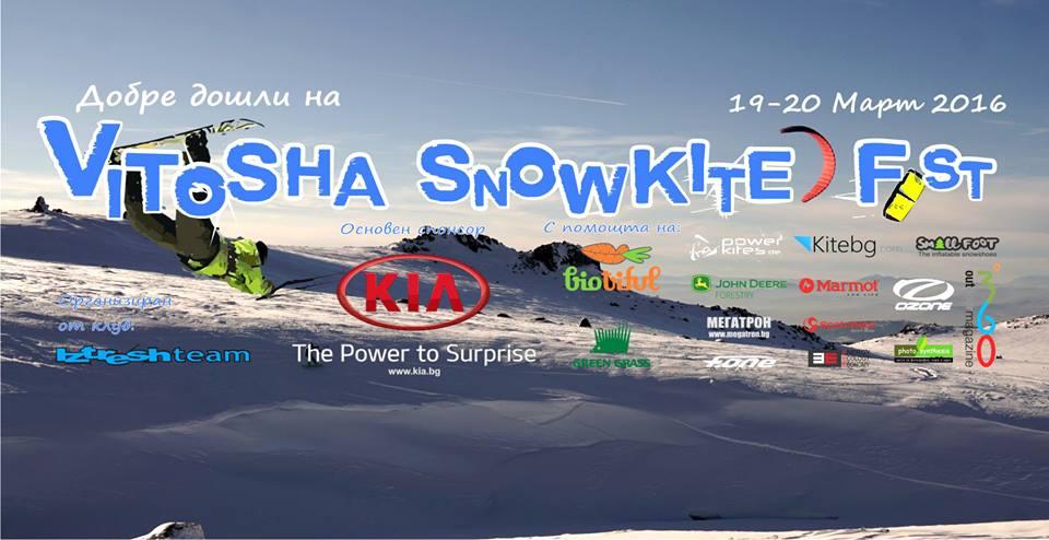 Vitosha Snowkite Fest