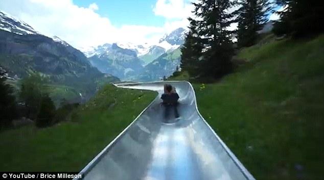 Епичният планински слайд