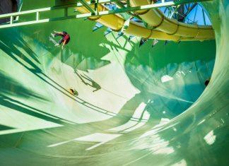 Скейт в аквапарк