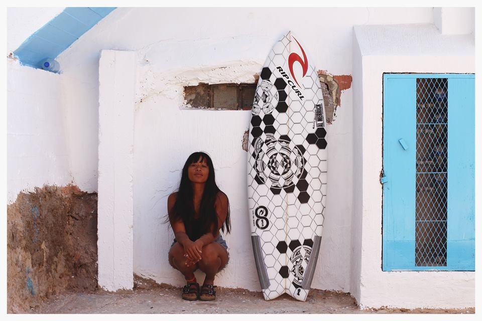 Изкуство върху сърф