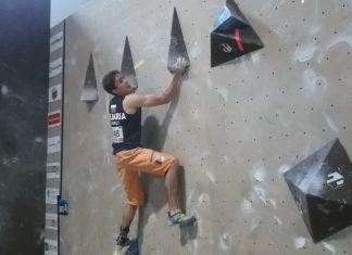 Петър Иванов/Европейска купа - боулдър
