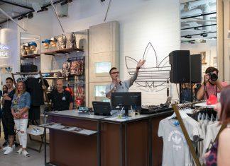 adidas Originals откриване на магазин