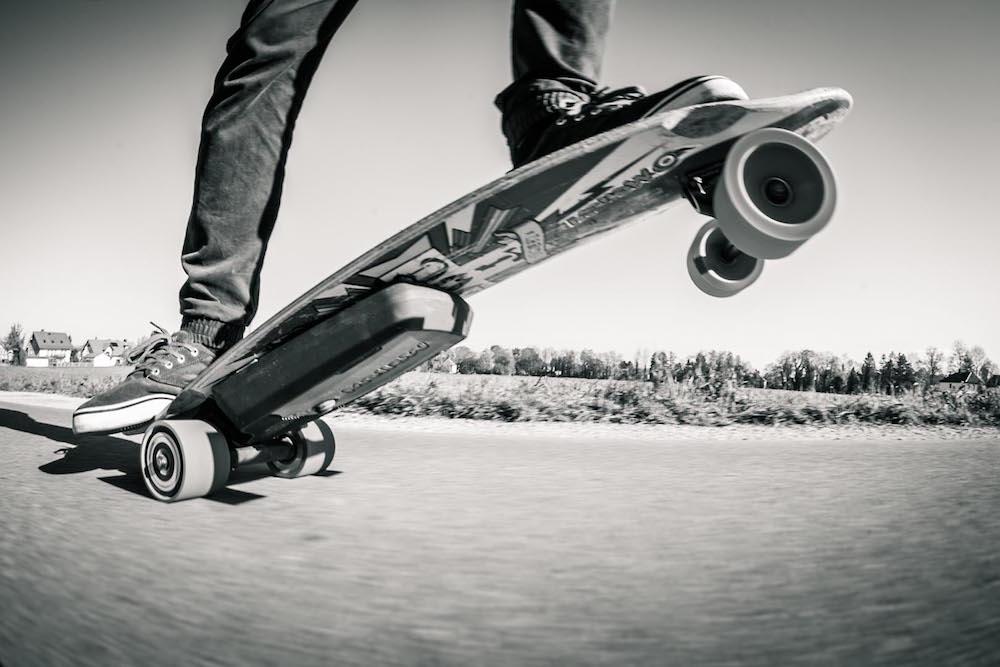 Завръщането на елекрическия скейт