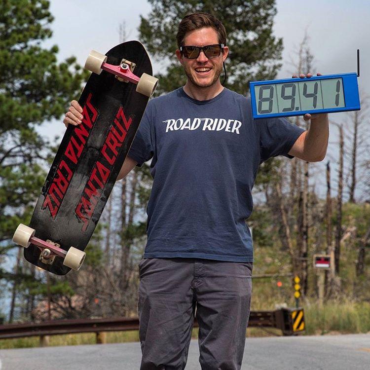 най-висока скорост със скейт