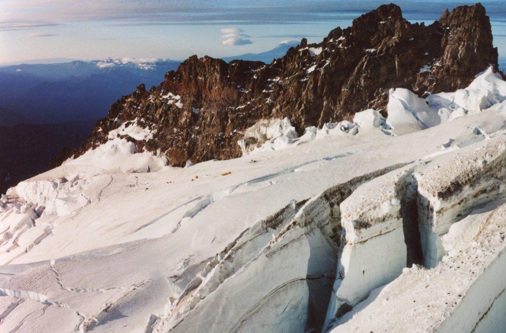 По ледниците на Монт Рейниър, 4,392 м