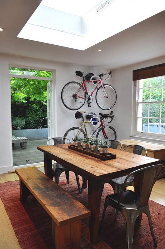 велосипед интериор идеи