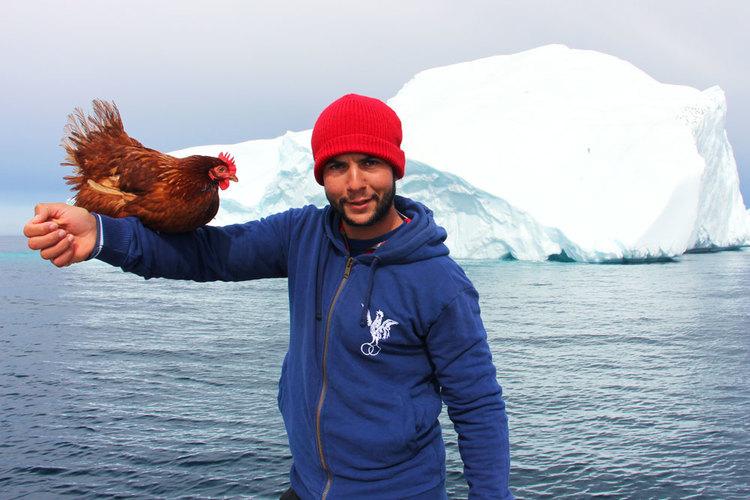 Около света с яхта и пиле