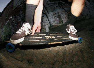 лонгборд трик скейт Bustin Longboards