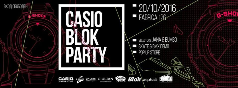 Casio Block Party
