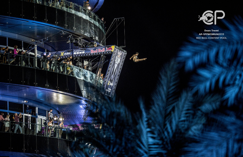 Red Bull Cliff Diving Dubai