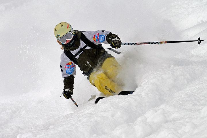 red bull powder kick ски състезание