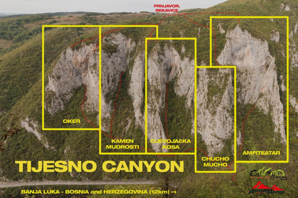 каньон тйесно босна