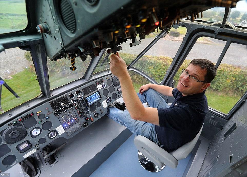 Глемпинг в хеликоптер