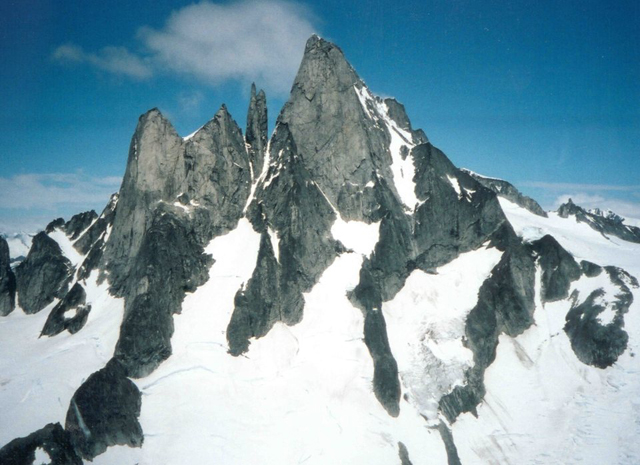 devils thumb Аляска